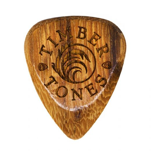 Timber Tones Grip Pale Moon Ebony 1 Guitar Pick